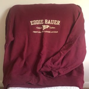 Vintage Eddie Bauer Crew Neck!!